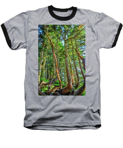 Crooked Trees Of Mt Roberts Baseball T-Shirt