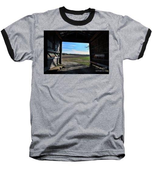 Crooks Bridge Baseball T-Shirt by Joanne Coyle