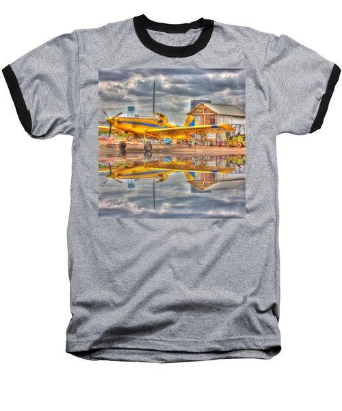 Crop Duster 001 Baseball T-Shirt