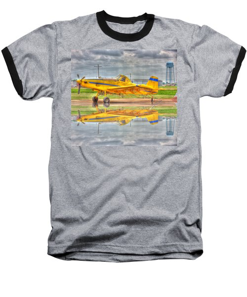 Crop Duster 002 Baseball T-Shirt