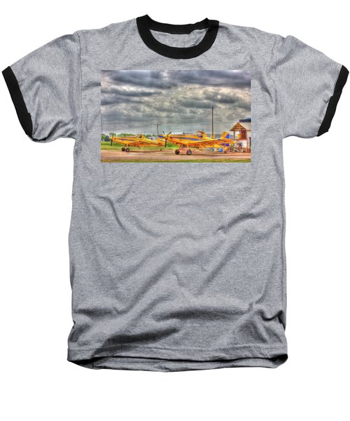 Crop Duster 003 Baseball T-Shirt