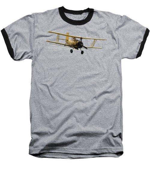 Crop Duster T Baseball T-Shirt by David Andersen