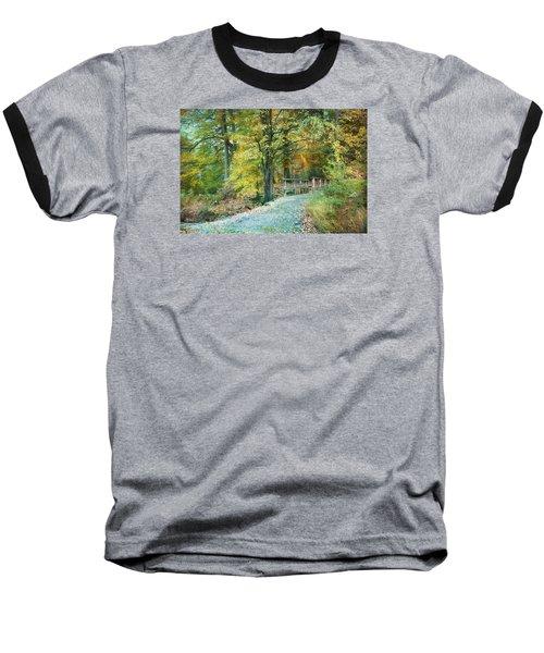 Cross Over The Wooden Bridge Baseball T-Shirt