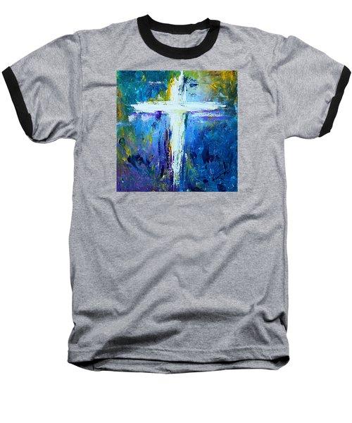 Cross - Painting #4 Baseball T-Shirt by Kume Bryant