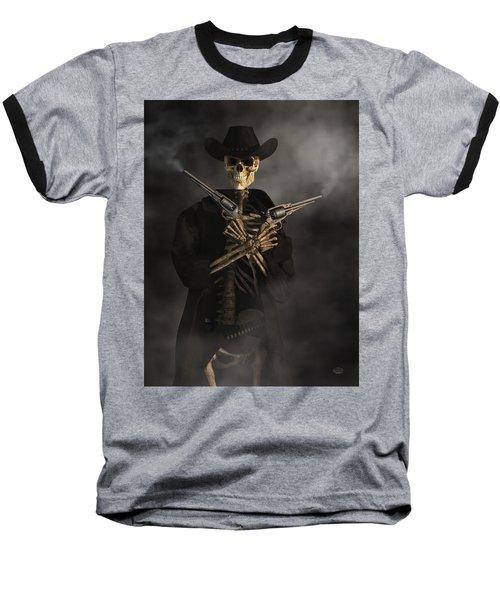 Crossbones Baseball T-Shirt