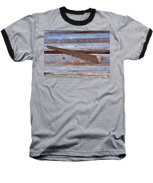 Crosscut Saw Baseball T-Shirt