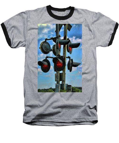 Crossed Signals Baseball T-Shirt