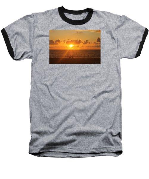 Baseball T-Shirt featuring the photograph Crossing Paths by Robert Banach