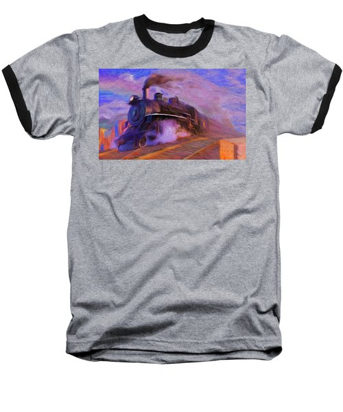 Crossing Rails Baseball T-Shirt