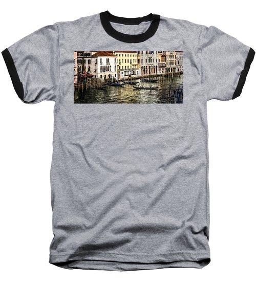 Crossing The Canal Baseball T-Shirt