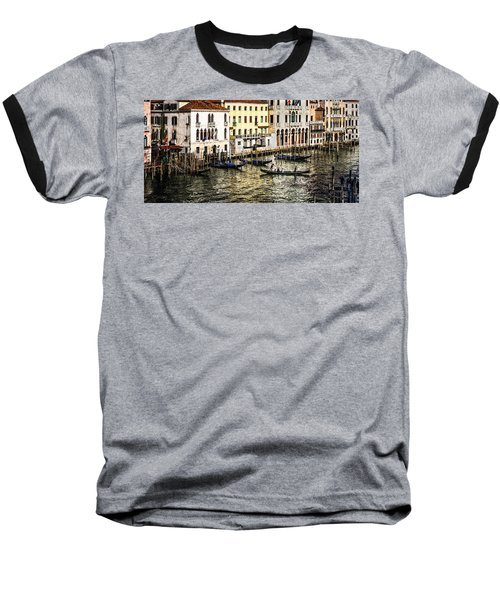 Crossing The Canal Baseball T-Shirt