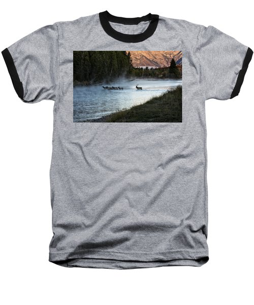 Crossing The River Baseball T-Shirt
