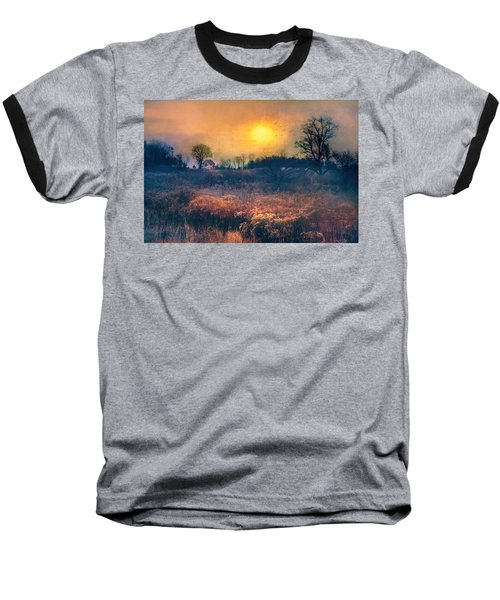 Crossing Through The Meadows Baseball T-Shirt