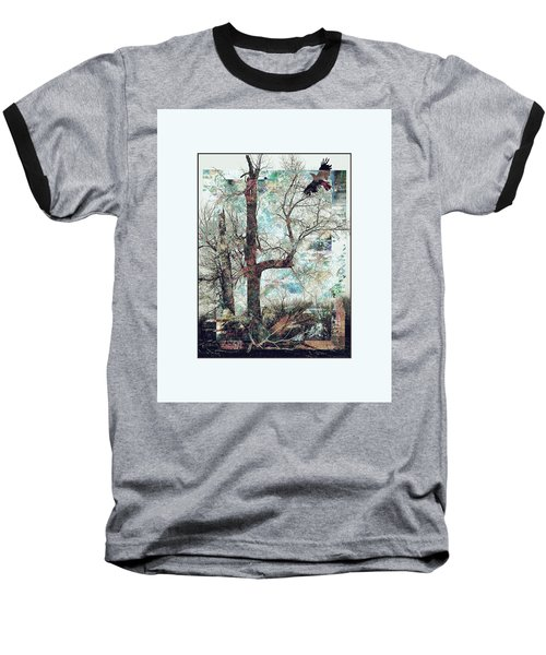 Crow At Ten Mile Creek Baseball T-Shirt