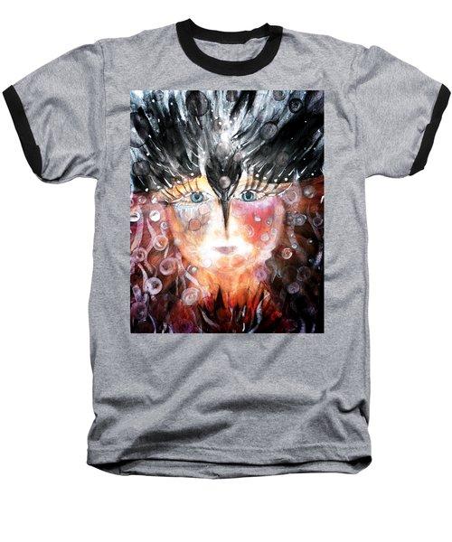 Crow Child Baseball T-Shirt