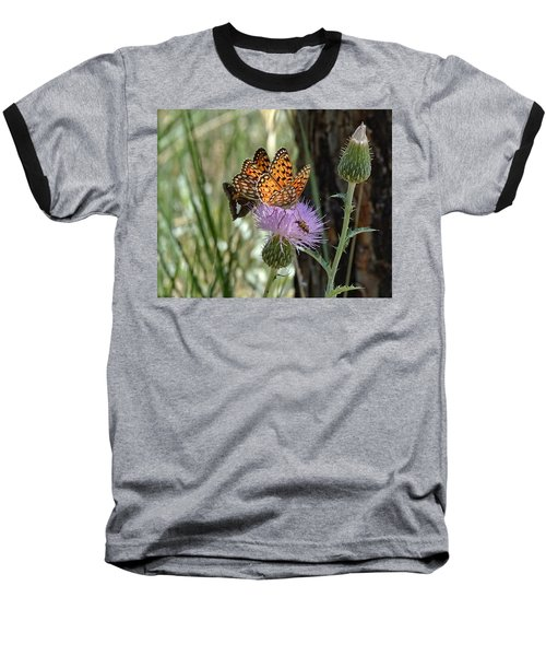 Crowded Thistle Baseball T-Shirt