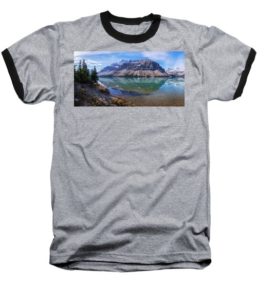 Baseball T-Shirt featuring the photograph Crowfoot Reflection by Chad Dutson