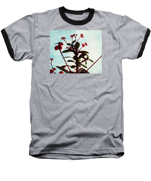 Crown Of Thorns Baseball T-Shirt by Shawna Rowe