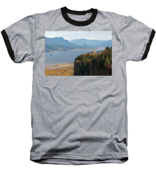 Crown Point On Columbia River Gorge Baseball T-Shirt