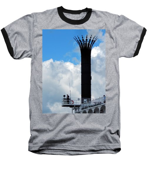Crowned Clouds Baseball T-Shirt