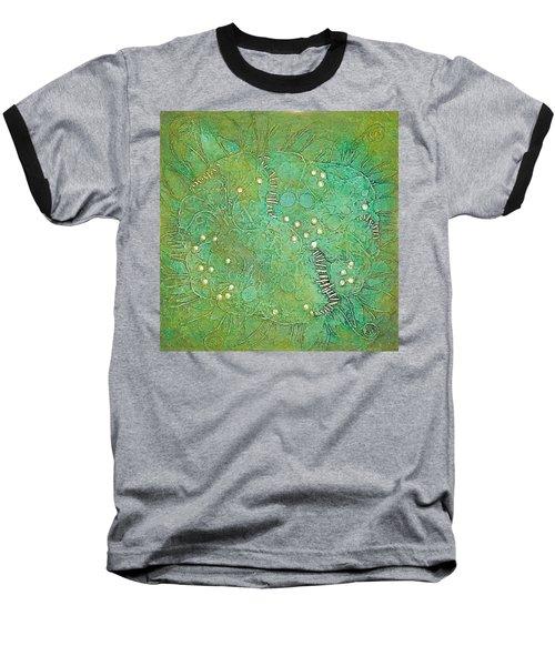 Cruciferous Flower Baseball T-Shirt by Bernard Goodman