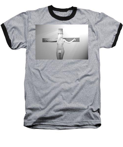 Crucifix And Light Baseball T-Shirt