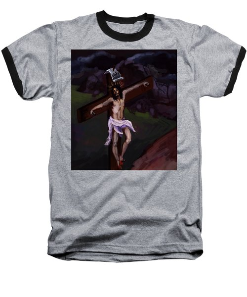Crucifixion 2 Baseball T-Shirt