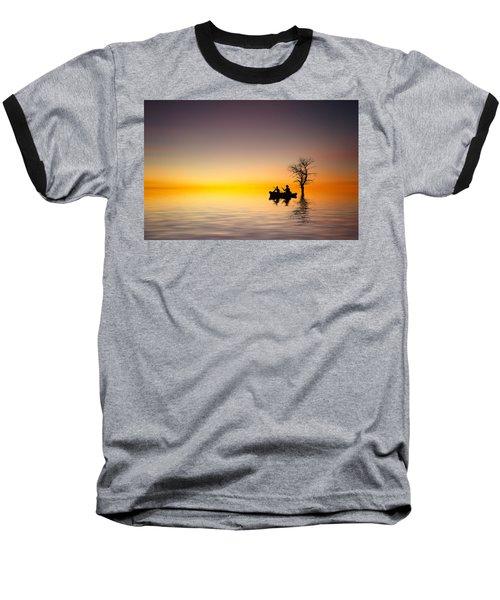 Baseball T-Shirt featuring the pyrography Cruise by Bess Hamiti