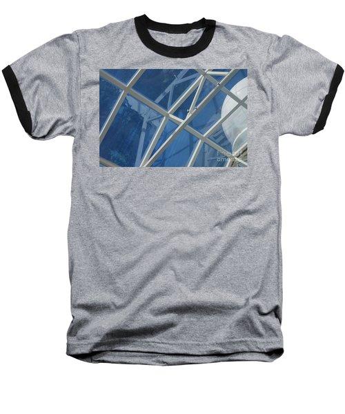 Cruise Ship Abstract Girders And Dome 2 Baseball T-Shirt