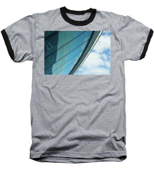Cruise Ship Abstract Serenade Windows 1 Baseball T-Shirt