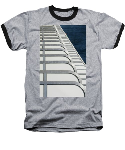 Cruise Ship's Balconies Baseball T-Shirt