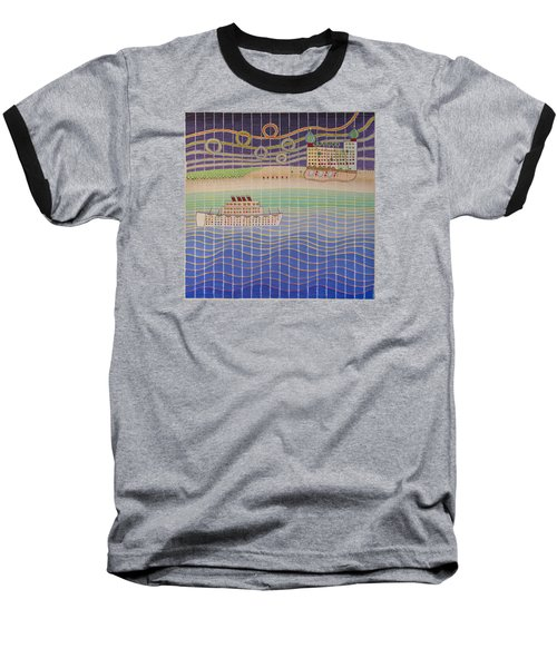 Cruise Vacation Destination Baseball T-Shirt