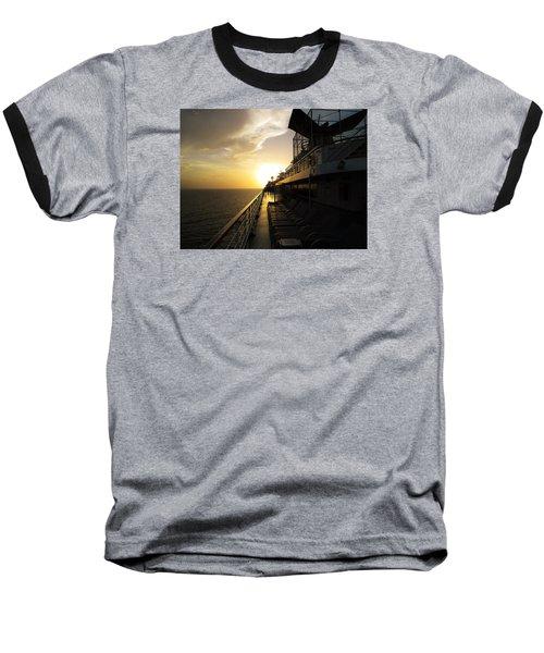 Cruisin' At Sunset Baseball T-Shirt