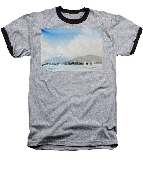 Cruising In Company Along The Tasmania Coast  Baseball T-Shirt