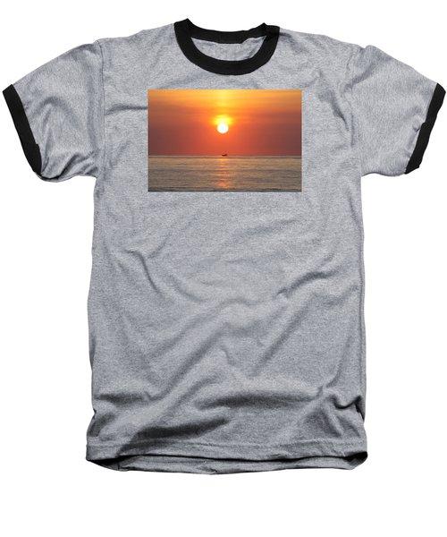 Baseball T-Shirt featuring the photograph Cruising On The Sunshine by Robert Banach