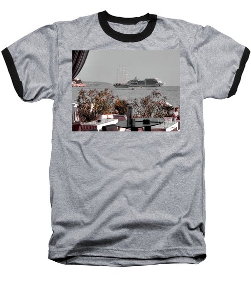 Cruising Past And Present Baseball T-Shirt