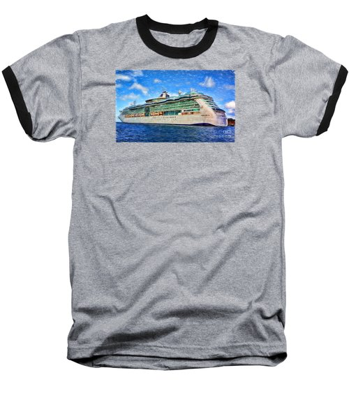 Baseball T-Shirt featuring the photograph Cruising Thru Life by Sue Melvin