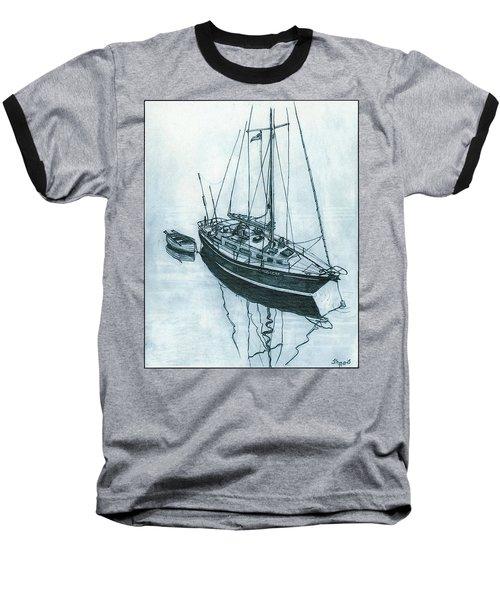 Crusader At Anchor Baseball T-Shirt