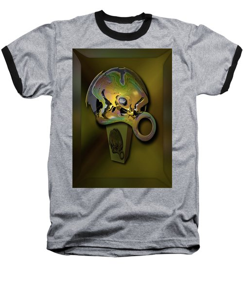 Baseball T-Shirt featuring the digital art Crushing Affinity by Steve Sperry