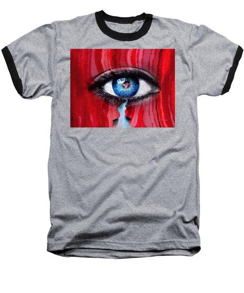 Cry Me A River Baseball T-Shirt