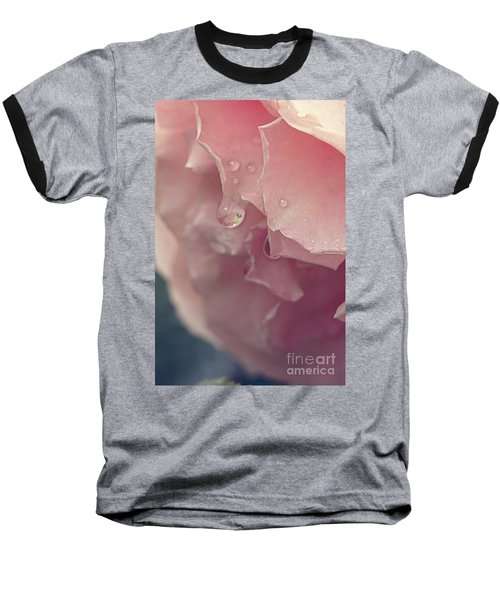 Baseball T-Shirt featuring the photograph Crying In The Rain by Linda Lees