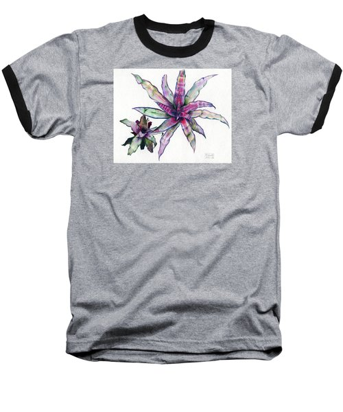 Cryptanthus Richard Lum Baseball T-Shirt