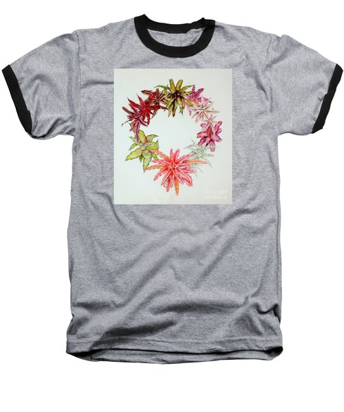 Cryptanthus Wreath Baseball T-Shirt