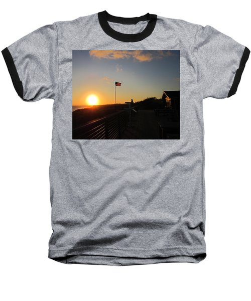 Crystal Cove 4th Of July Baseball T-Shirt