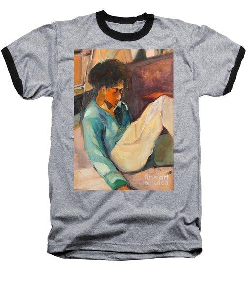 Crystal Baseball T-Shirt by Daun Soden-Greene