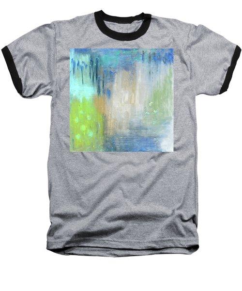 Baseball T-Shirt featuring the painting Crystal Deep  by Michal Mitak Mahgerefteh