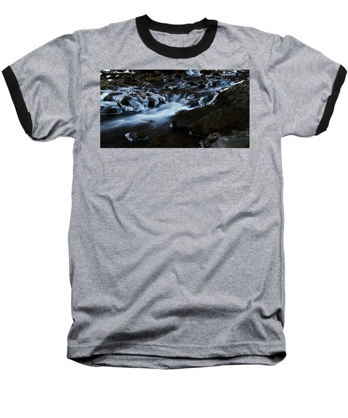 Crystal Flows In Hdr Baseball T-Shirt