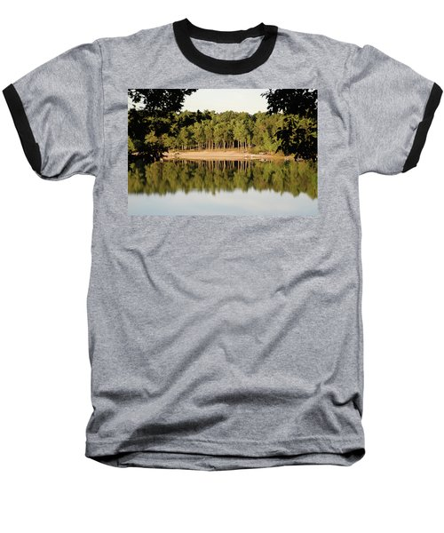 Crystal Lake In Whitehall Mi Baseball T-Shirt by Ferrel Cordle