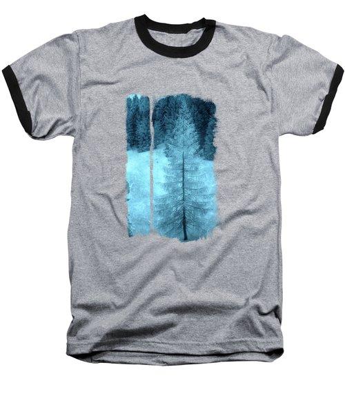 Crystal Larch Baseball T-Shirt by AugenWerk Susann Serfezi