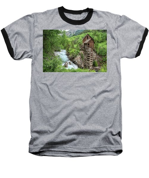Crystal Mill Colorado 3 Baseball T-Shirt
